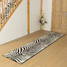 Leopard Print Runner Rug Brown Zebra Print Runner Rug Best Rug 2018