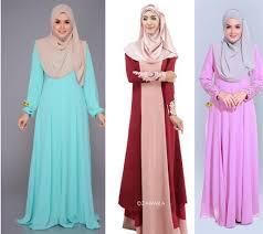 gaun muslim model gaun dress terbaru