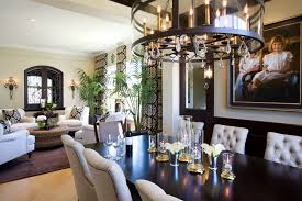 modern traditional home dining room robeson design san diego