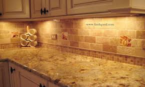 stone subway tile backsplash tumbled marble backsplash is