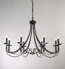 Black Chandelier Dining Room Dining Room Iron 8 Light Black Chandelier By Overstock Chandelier