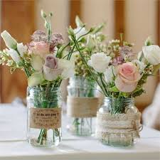 jar wedding centerpieces rustic wedding centerpieces jars planinar info