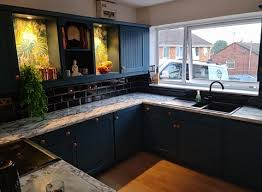 can you paint b q kitchen cabinets transforms grotty and shabby kitchen using b q paint