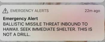 panico testo hawaii falso allarme per un missile in arrivo 38 minuti di