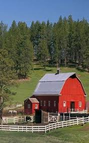 Red Barn Mt Vernon Mo Old Red Snowy Barn U2026 Country Living House For Singles Red House