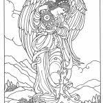 angel color pages 20 free printable angel coloring pages for adults