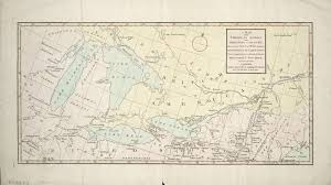 A Map Of Canada by Canada History War Of 1812 Maps Toronto Public Library