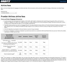 carry on fee the new frontier of airline fees overhead bin space and seat