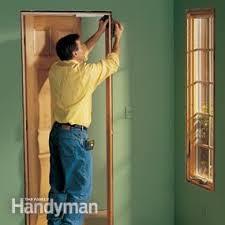How To Install Interior Door Casing Interior Trim Work Basics Family Handyman
