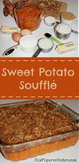 sweet potato soufflé six figures