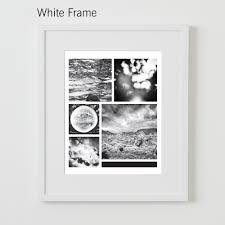 framing collected together white frame black loversiq