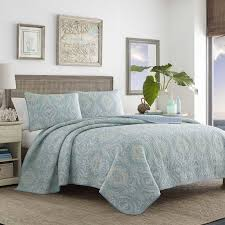 tommy bahama bedding turtle cove reversible quilt set by tommy