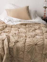rosette bedding in linen the third row