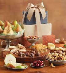 deluxe tower of treats gift gift towers food gifts harry