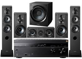 home theater systems amazon com amazon com sony 7 2 channel 3d 4k a v surround sound multimedia