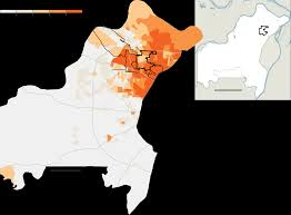 Black Death Map What Happened In Ferguson The New York Times