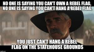 Sam Elliot Meme - sam elliot on the flag debacle imgflip