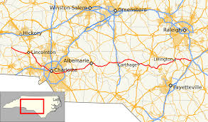 Charlotte Nc Airport Map North Carolina Highway 27 Wikipedia