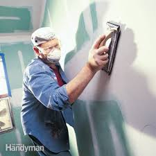 how to sand drywall family handyman