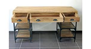 caisson bureau bois bureau metal et bois womel co