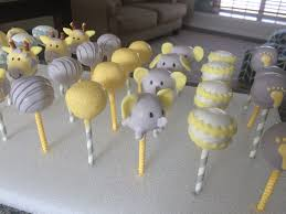 yellow and gray baby shower cakepops yellow gray baby shower s craftin cookin