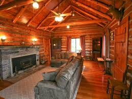 authentic mountain log cabin perched on a c vrbo