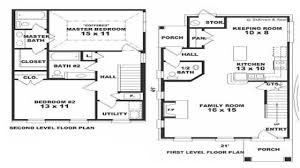 100 center hall colonial open floor plan one story