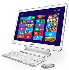 ordinateurs de bureau tout en un samsung aio dp505a2g k02fr non tactile 21 5 pouces led hd blanc