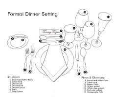 how to set a formal table 50 setting table silverware table settings formal table settings