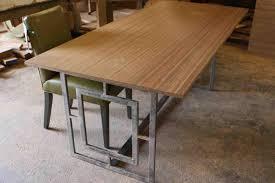 Paint Patio Furniture Metal - wonderful dark brown wood modern design glass top dining table