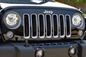 jeep lights on top the 2017 jeep wrangler just received modern headlights