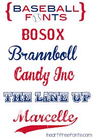 10 best free fonts for sports fans blog inspiration pinterest