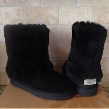 womens ugg patten boots ugg australia patten black suede sheepskin boots 1006794 size us 8