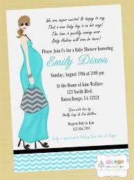 color baby shower invitations