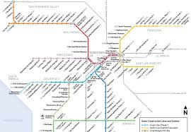 la metro rail map see how the metro map will look in a decade los angeles magazine