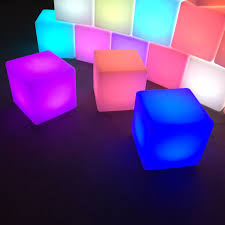 led furniture hire supplying led bars led cubes led seating