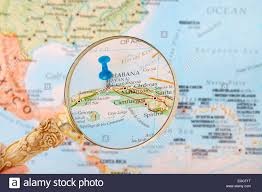 Map Caribbean by Blue Tack On Map Of Caribbean With Magnifying Glass Looking In On