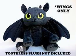 toy dragon wings upgraded wings build bear toothless