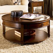 coffee table hammary sunset valley round cocktail table round