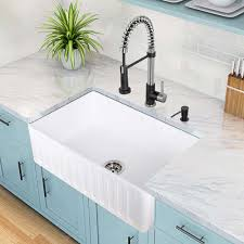 how to install farm sink in cabinet how to install a farmhouse sink hometips