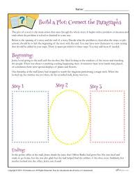 build a plot connect the paragraphs worksheet paragraph