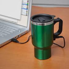 heated coffee mug the dual heated travel mug gadgetsin