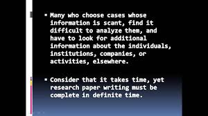 tips on writing a research paper in college tips for success in writing a psychology paper involving case tips for success in writing a psychology paper involving case study analysis youtube