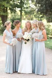blue gray bridesmaid dresses real weddings gallery pastel blue wedding weddings and grey