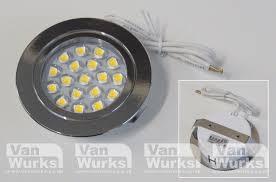touch sensitive recessed led light vanwurks vw cer interiors
