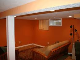decorations ideas for finishing basement walls along budget