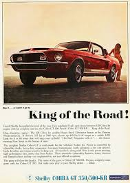 ford mustang ad ford 1968 mustang shelby gt500 kr ad ford mustang
