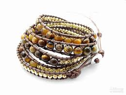 tiger eye jewelry its properties 6mm tiger eye bead wrap bracelet design handmade wrap