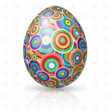 easter egg ornate with circles vector image 7846 u2013 rfclipart