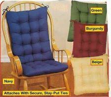 Rocking Chair Cushions For Nursery Rocking Chair Pads Ebay